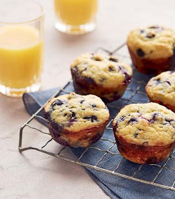 Keto Blueberry Sour Cream Muffins Recipe