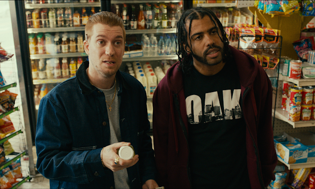 two guys in a convenience store