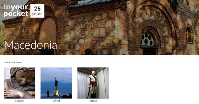"""Skopje, Ohrid and Bitola """"In Your Pocket"""" guide to be promoted"""