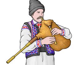 チンポイ cimpoi  ルーマニアのバグパイプ