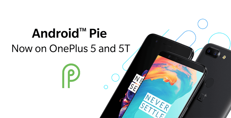 OnePlus 5/5T receives Android Pie update!