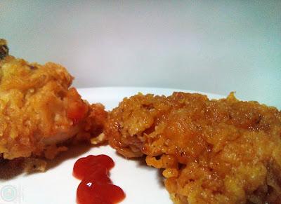 pollo estilo kfc paso a paso