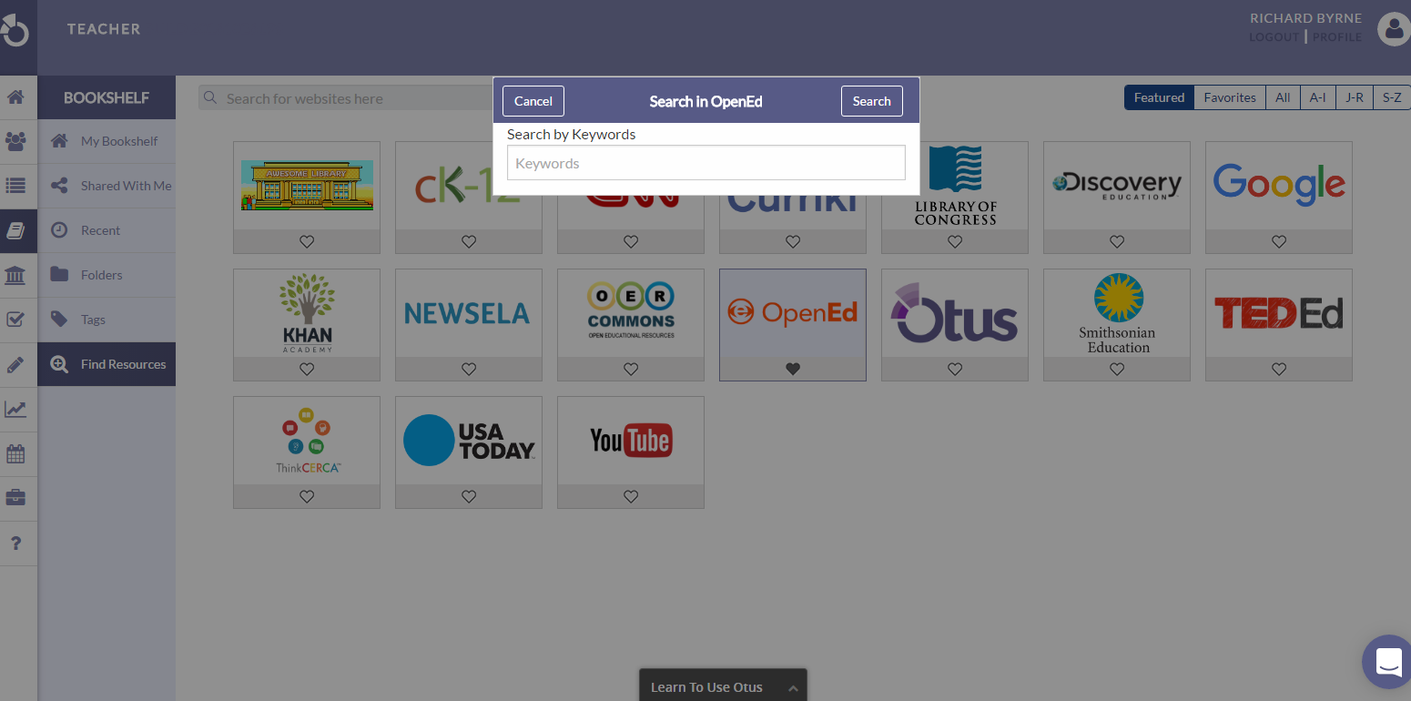 From The OpenEd Catalog You Can Share Resources To Your Google Classroom Classrooms Watch Short Video Embedded Below Learn How Do That