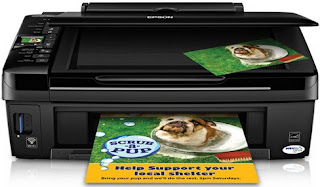 color inkjet multifunction such as print Epson Stylus NX420 Software Driver Download