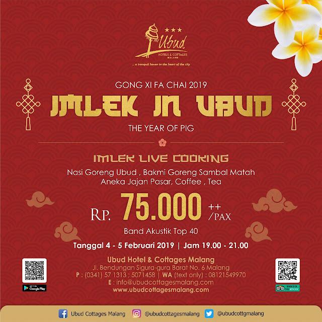 Promo Imlek di Ubud cottage Malang