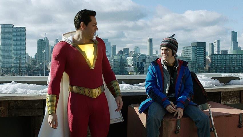 Шазам!, Shazam!, сцены после титров, подробное описание, что показали и как понять, Мистер Майнд, Аквамен