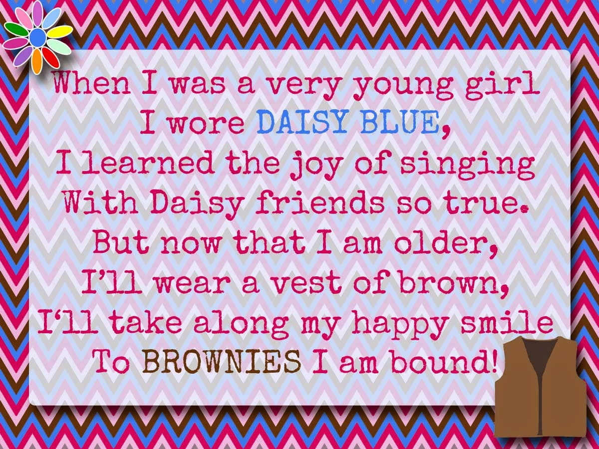 My Fashionable Designs Girl Scouts Bridging To Brownies