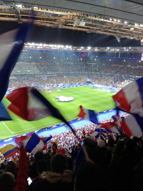 France v Colombia