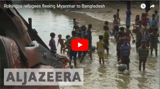 Abaikan Perintah, Polisi Izinkan Pengungsi Rohingya Masuk Bangladesh