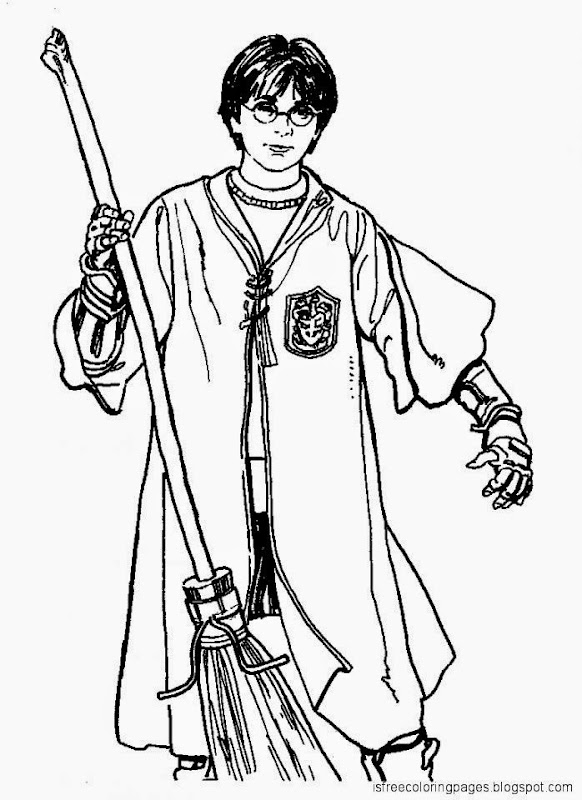 Harry Potter Coloring Pages Free Coloring Pages