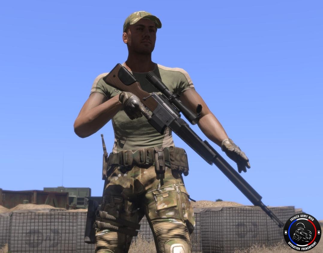 弱者の日記^^Arma 3 用フランス軍 MOD の武器やヘリの開発レポート第 3 弾が公開