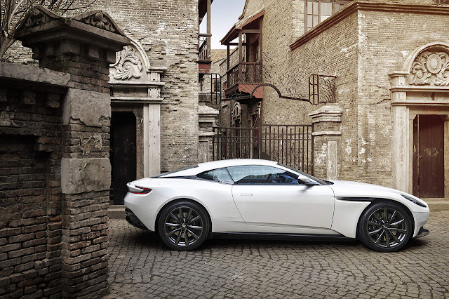 Sublime choices: Aston Martin DB11 now offered with V8 engine