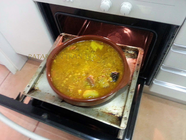 arroz al horno, cocina española tradicional