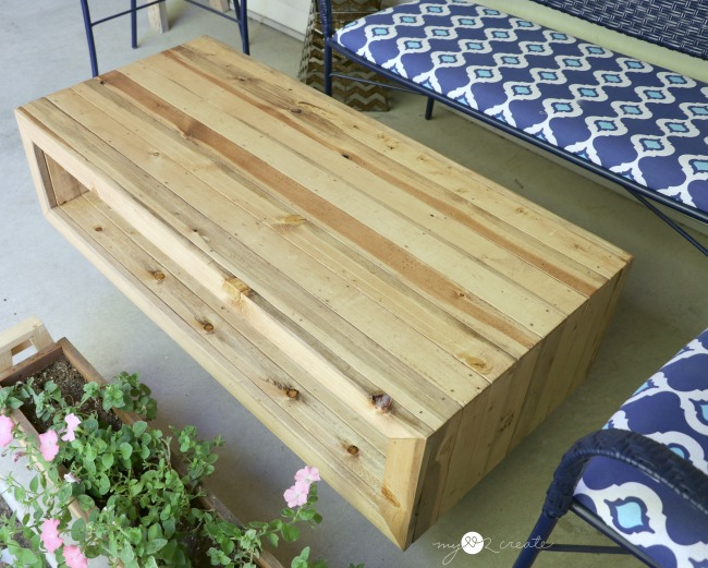 reclaimed wood coffee table my love 2