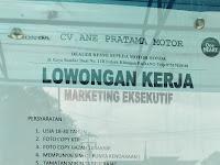 Lowongan kerja Padang Marketing Eksekutif