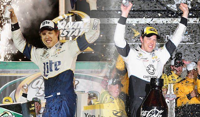Brad Keselowski wins back to back
