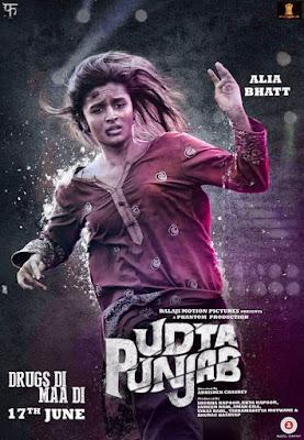 Udta Punjab 2016 Movie Poster   Alia Bhatt