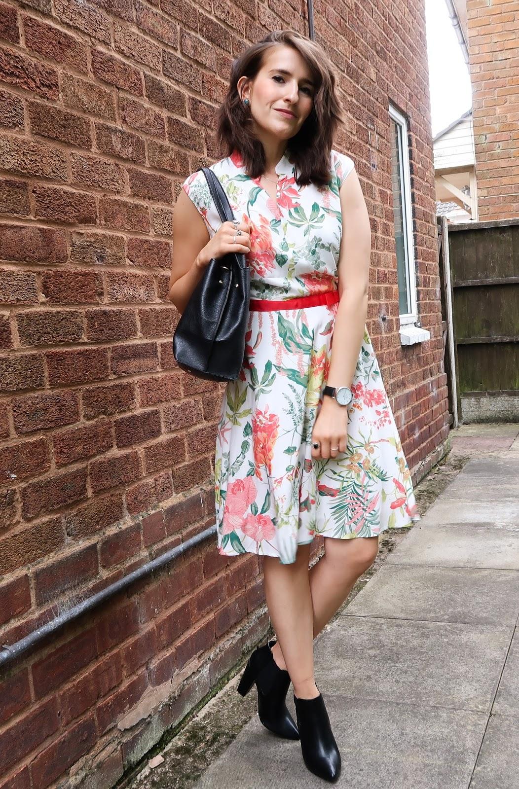 Alice's Pig floral dress