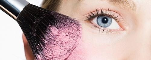Que significa rubor en maquillaje