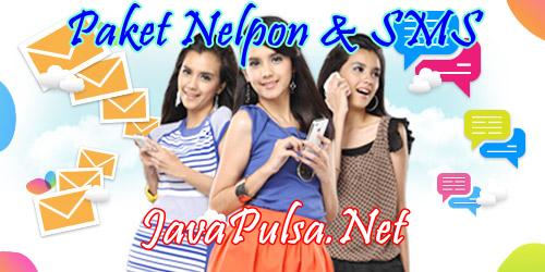 Paket Nelpon dan SMS ke Semua Operator Server Java Pulsa Online Termurah Jember Surabaya Jawa Timur