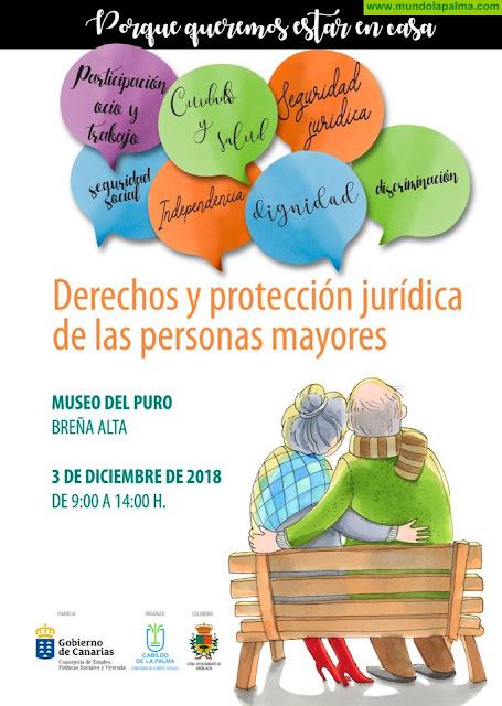 El Cabildo organiza unas jornadas sobre los derechos y protección jurídica de las personas mayores