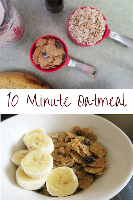 easy oatmeal bowl