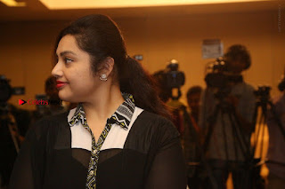 Tamil Actress Meena Latest Stills in Black Dress at TSR TV9 Awards Press Meet  0184.JPG