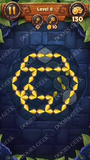 Gems & Magic [Emerald] Level 8 Solution, Walkthrough, Cheats