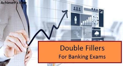 English Quiz Double Fillers For IBPS PO, Clerk