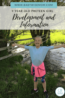 This is a preteen summary for McKenna from 9-9.25 years old. Information on a nine year old girl. Eating habits, sleep habits, and anxiety for a preteen girl.