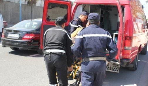 حادثة سير خطيرة بين بن سليمان وبوزنيقة