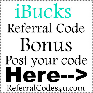 iBucks App Referral Code, iBucks App Invite Code & iBucks App Sign Up Bonus