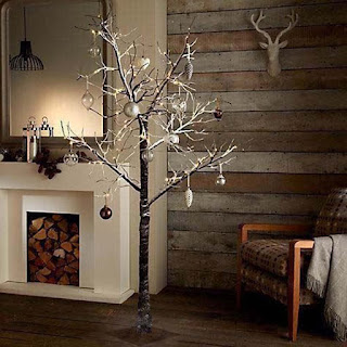 XMAS twig Tree, 7ft Snowy Effect Warm White £49.99, merry chrismast n happy new year