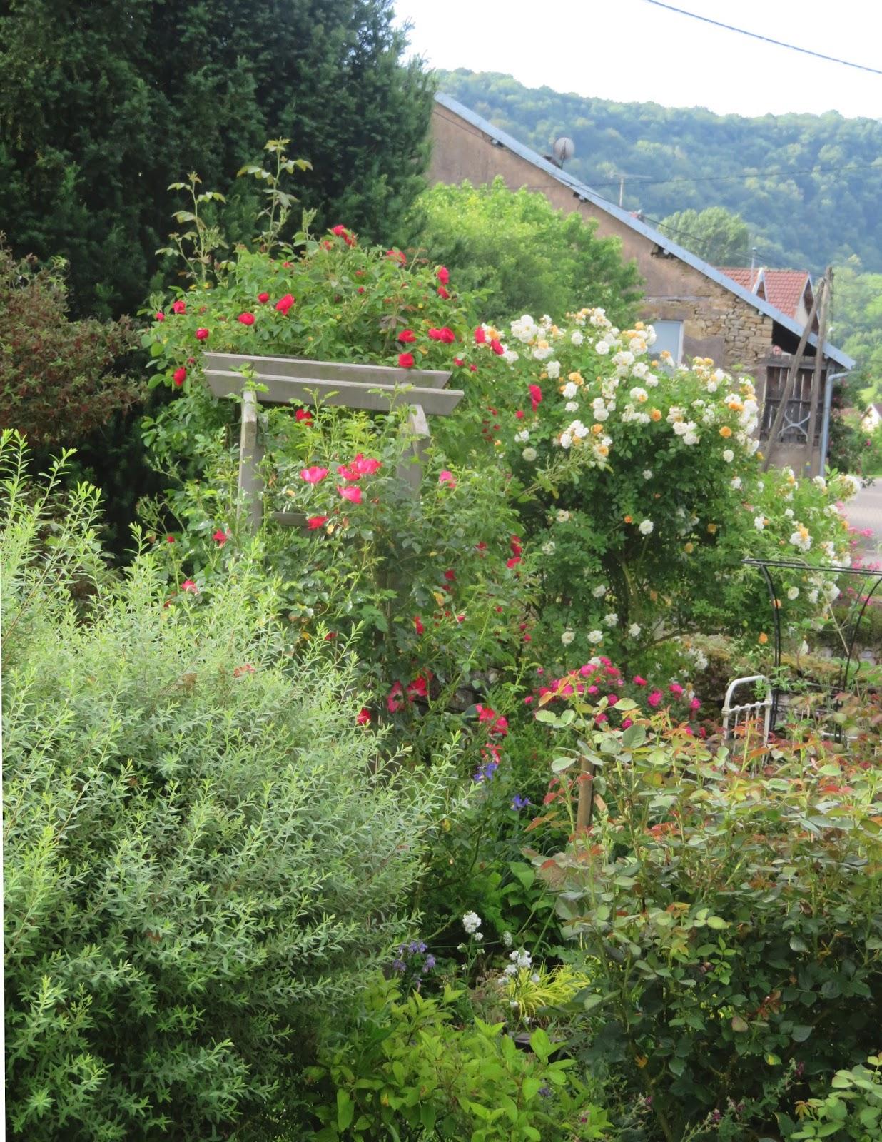 mes motsdoubs juin au jardin ForJuin Au Jardin