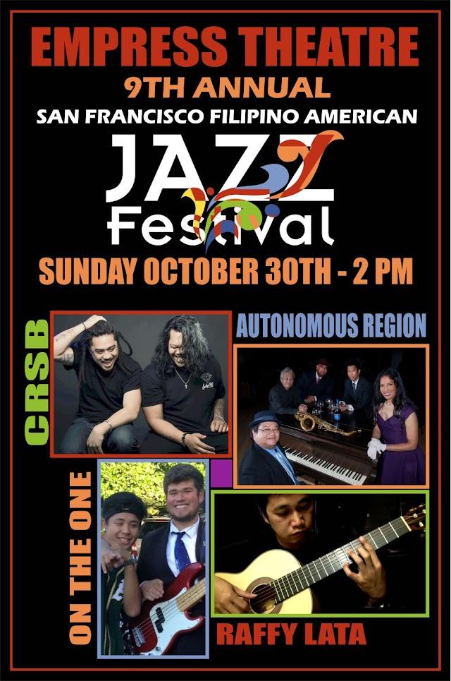 Event: 9th Annual SF Filipino American Jazz Festival