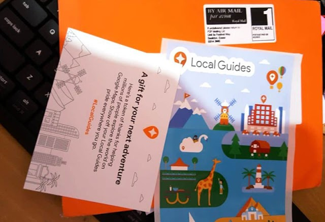 Dapat Stiker Local Guide dari Google Maps