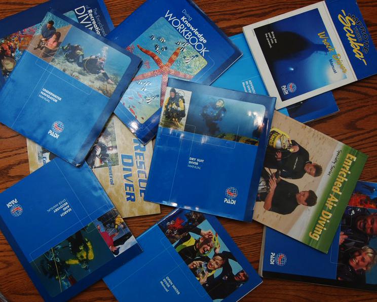 The Dive Shack Tides: Chris' Dive Experiences: The PADI Line