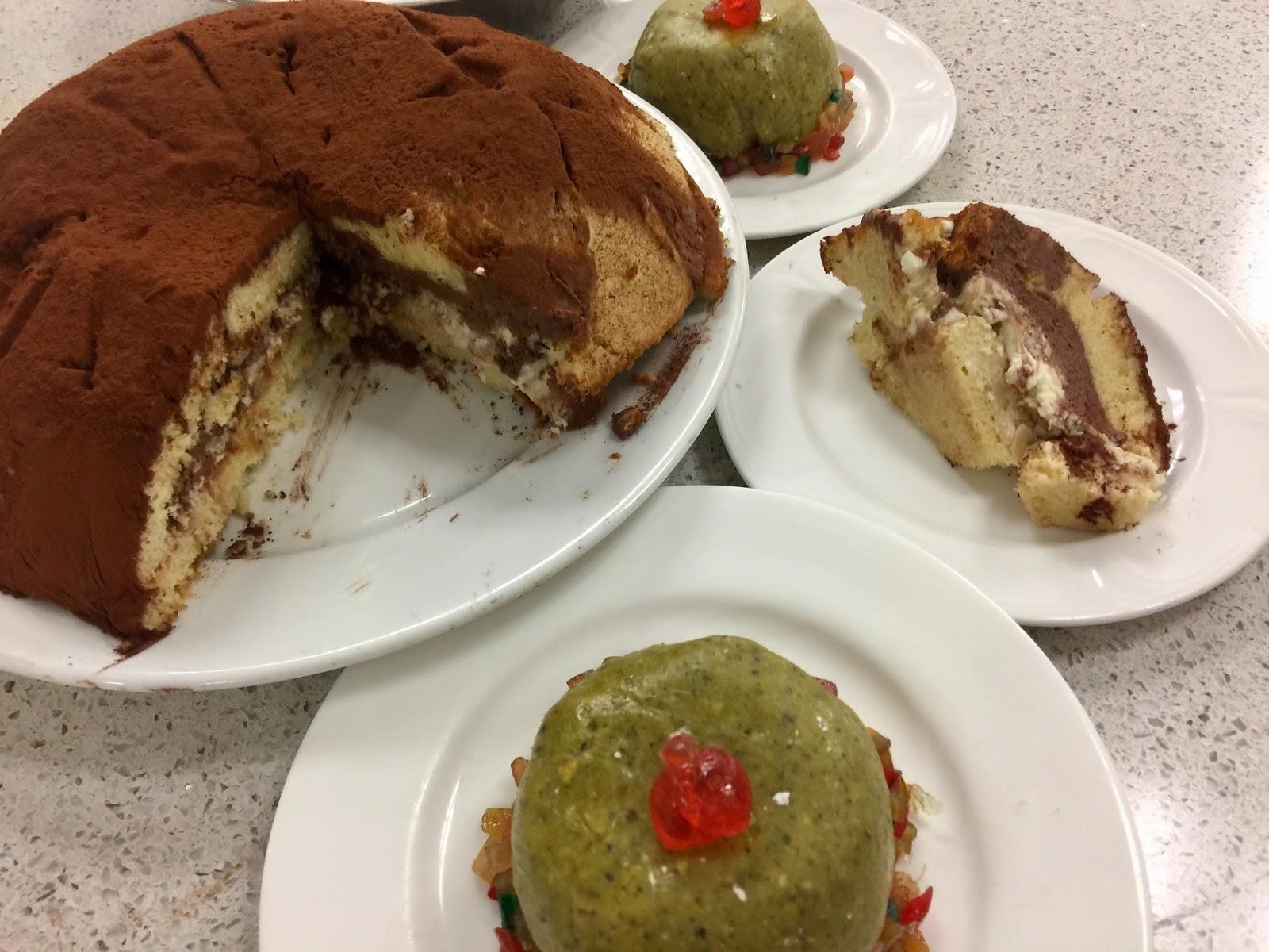 Dessert dome pour noel
