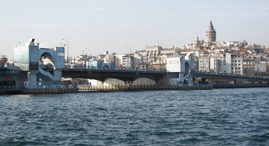 El Puente Gálata en Estambul