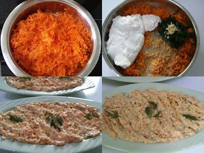 Tahinli Havuç Salatası Tarifi