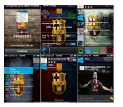 BBM MOD TEMA CLUB BOLA BARCELONA FC V2.11.0.18 APK TERBARU 2016