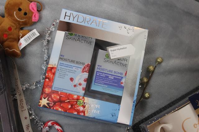 skincare garnier gift set hydrate