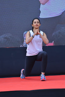 Rakul preet singh Fitness unplugged event photos