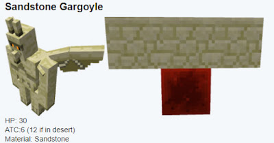 gargola de sandstone