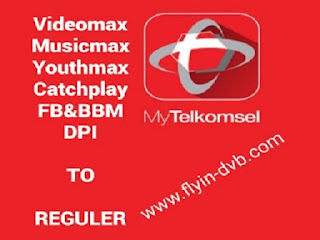 Cara merubah kuota videomax musicmax youthmax catchplay fb bbm dpi menjadi kuota reguler tanpa akun ssh vpn