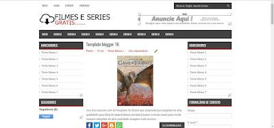 Template Blogger Filmes E series #1057