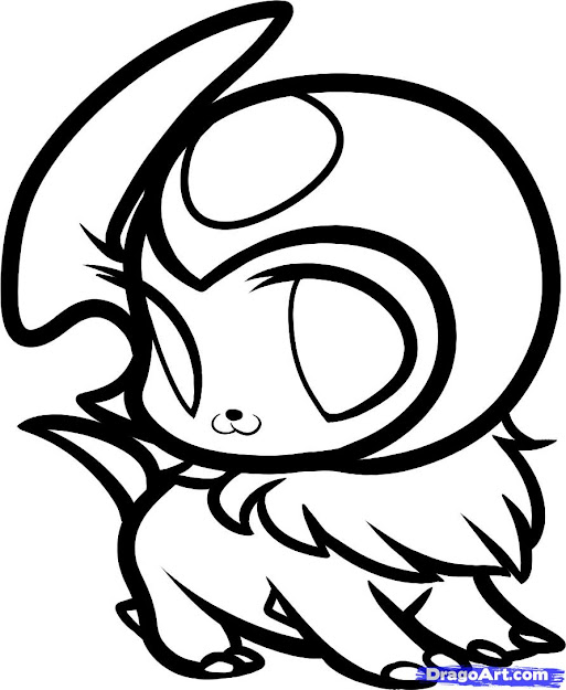 Chibi Pokemon Coloring Pages  Google Search