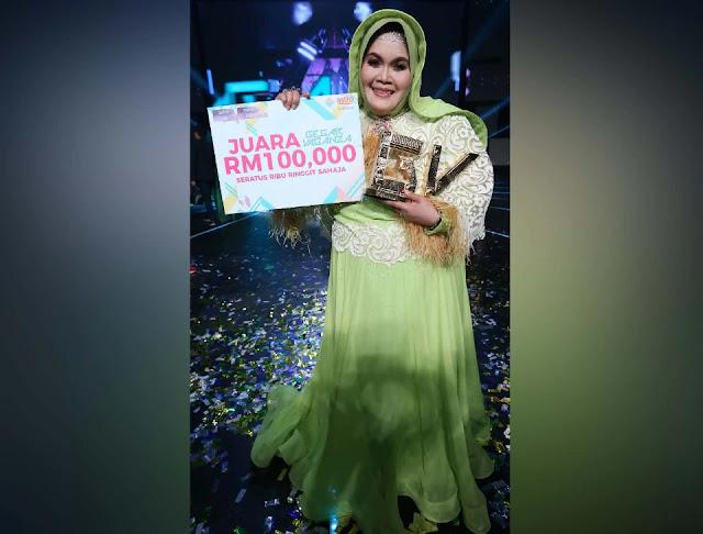 Tahniah Aisyah juara gegar Vaganza 2017