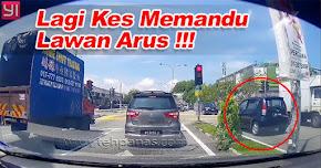 Thumbnail image for (Video) Ada Lagi Kes Lawan Arus, Kini Giliran Myvi Pulak