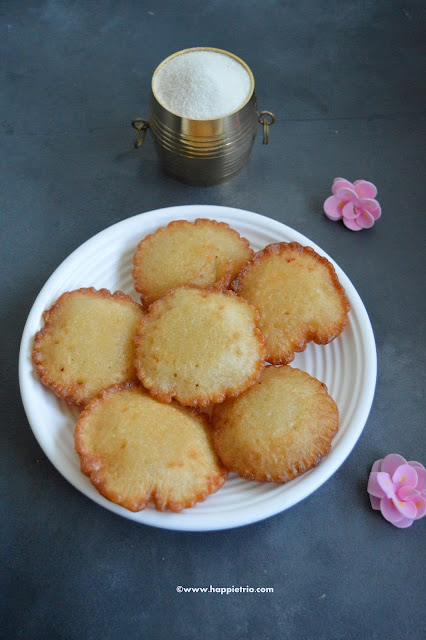 Rava Sweet Appam Recipe